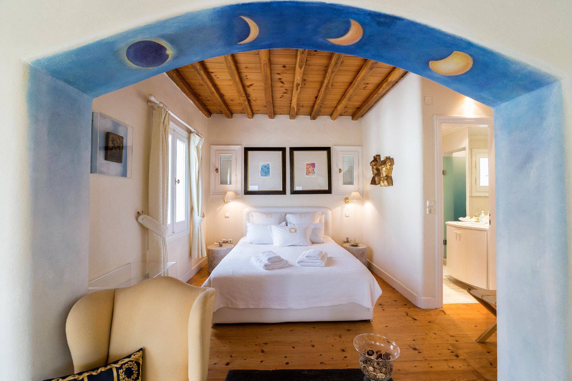 The Galaxy Mykonos villa with large pool and yoga platform photo 6005268