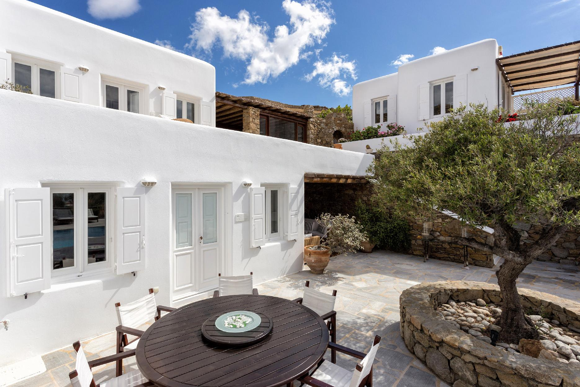 Apartment The Galaxy Mykonos villa with large pool and yoga platform photo 6005297