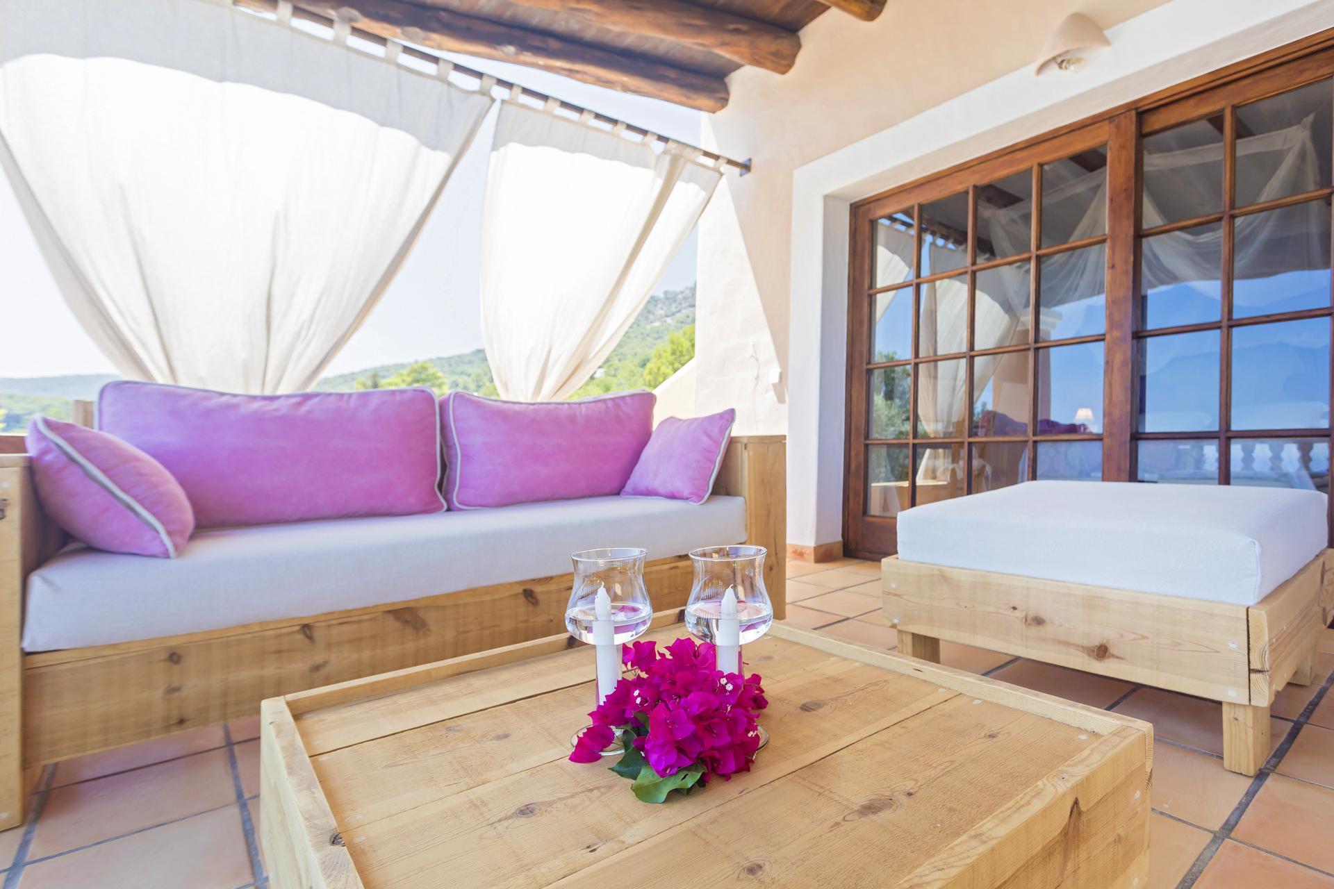Apartment Villa Cas Berris  Lujo y Vista mar en Es Cubells photo 17539240