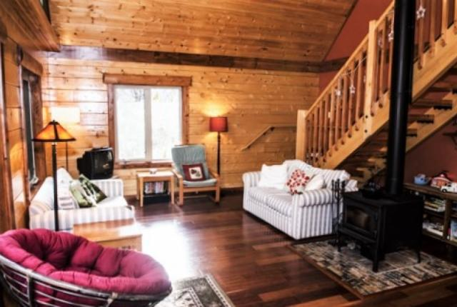 Mt. Baker Lodging Cabin #21 – REAL LOG CABIN, BBQ, PETS OK, SLEEPS-6! photo 59550