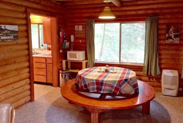 Mt. Baker Lodging Cabin #17 – REAL LOG CABIN, BBQ, PETS OK, SLEEPS-8! photo 59485