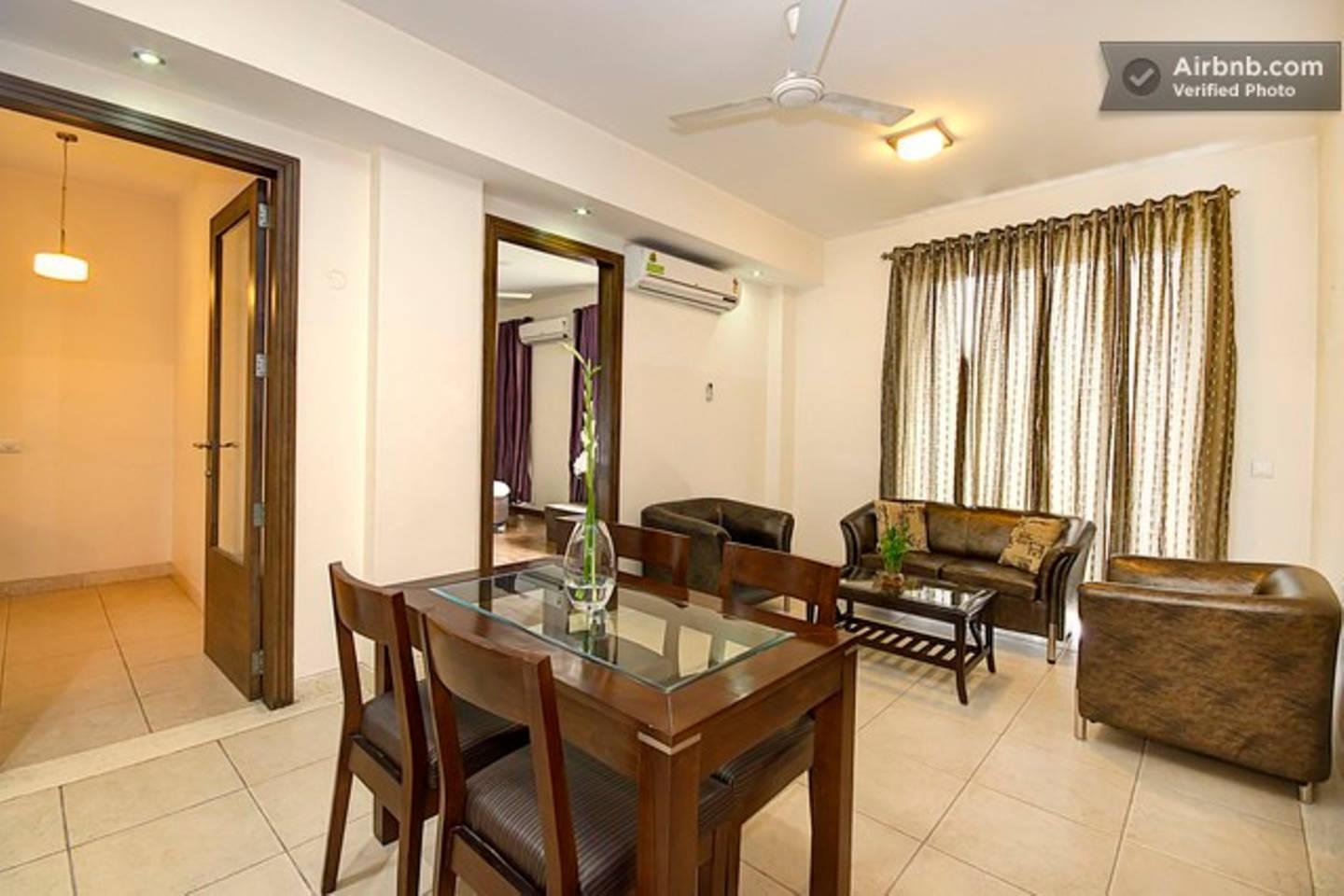 Apartment 2 BHK Serviced Apartment Cyber Park  Perch  photo 31767974