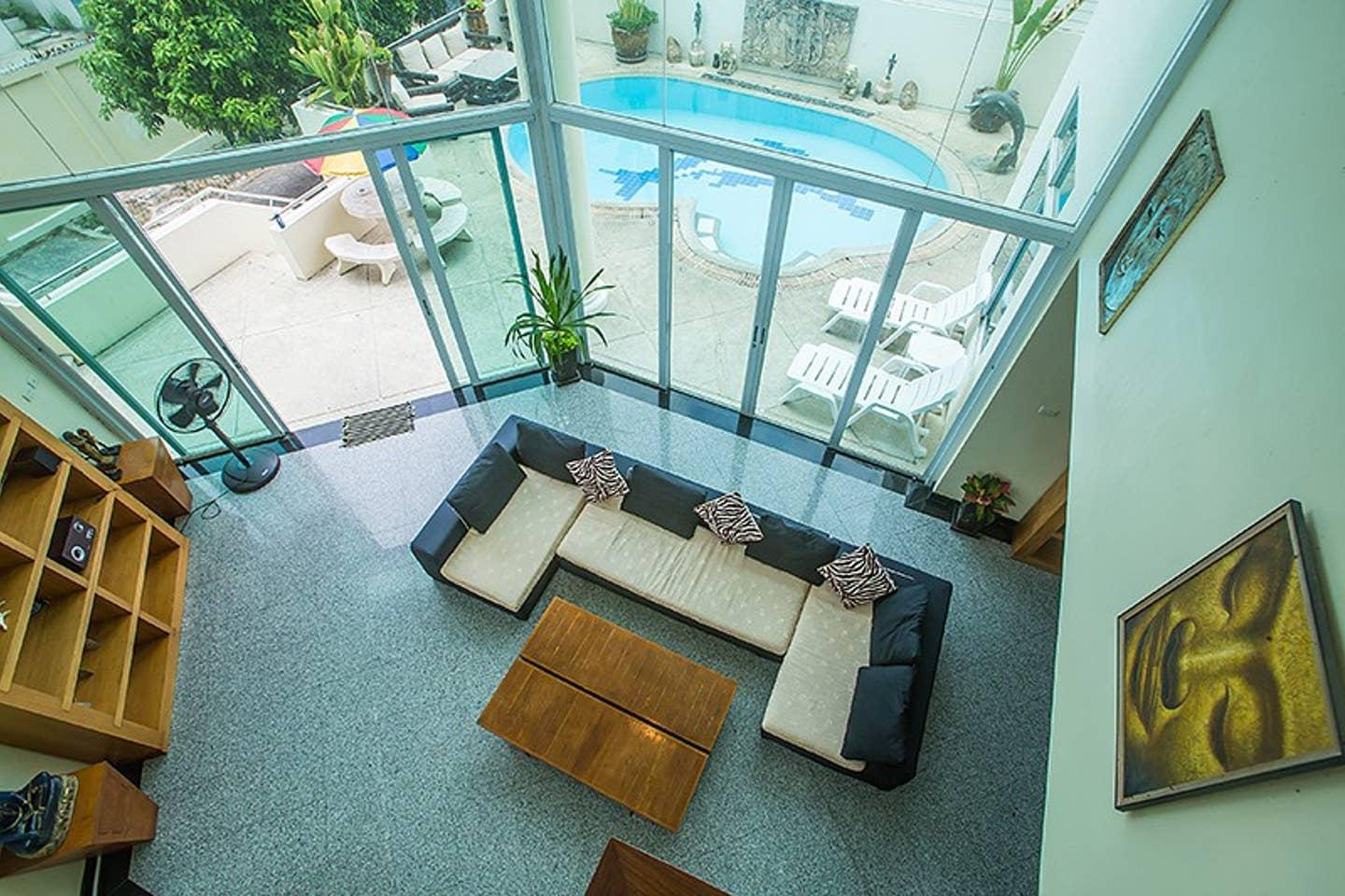 Apartment 5BR Private Pool Villa in Amazing Pattaya w Sun deck Parking photo 22534350