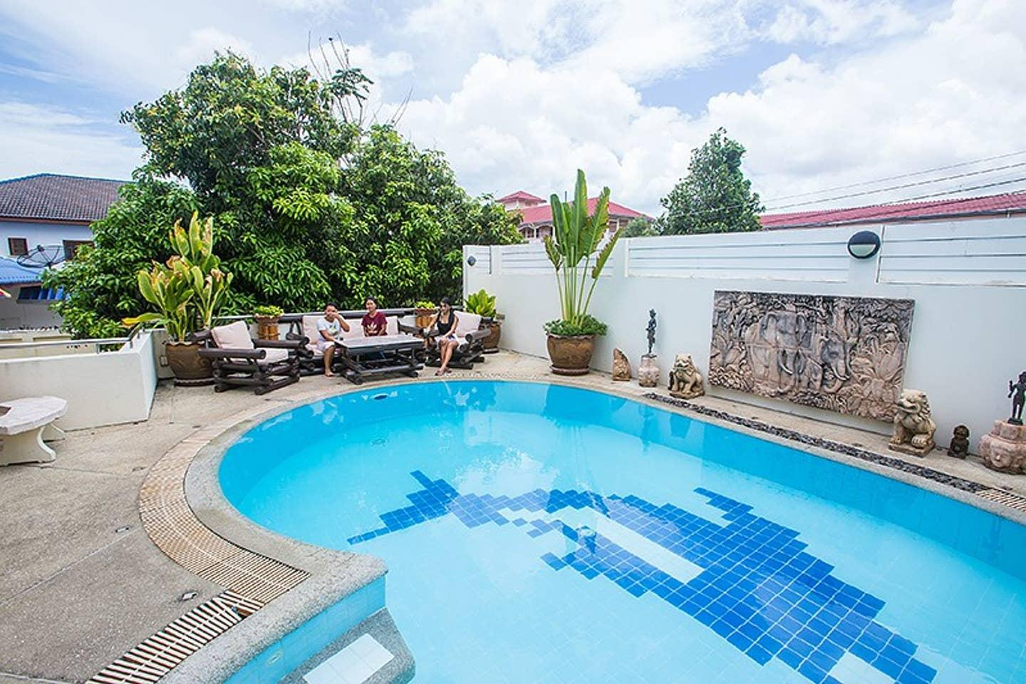 Apartment 5BR Private Pool Villa in Amazing Pattaya w Sun deck Parking photo 22534366